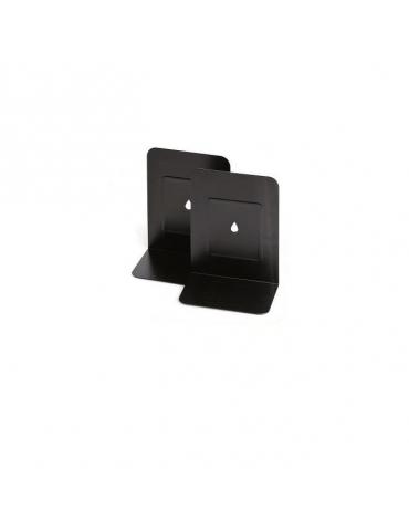 Coppia reggilibri - metallo - 13,5x17,5 cm Lebez
