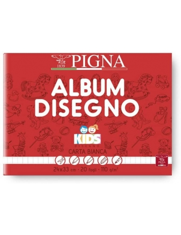 Album da Disegno Pigna Kids 24x33 cm