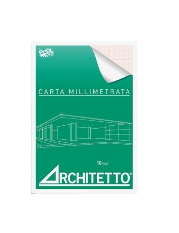 Album Carta Millimetrata Architetto A4