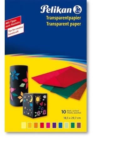Carta Trasparente Colorata Pelikan 18,5x29,7