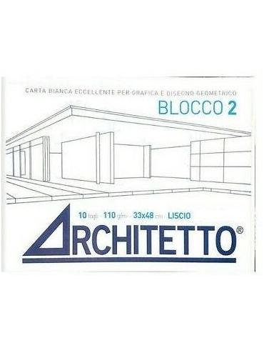 Album da Disegno Architetto F2 Liscio 33x48 cm