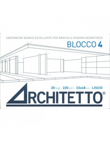 Album da Disegno Architetto F4 Liscio 33x48 cm