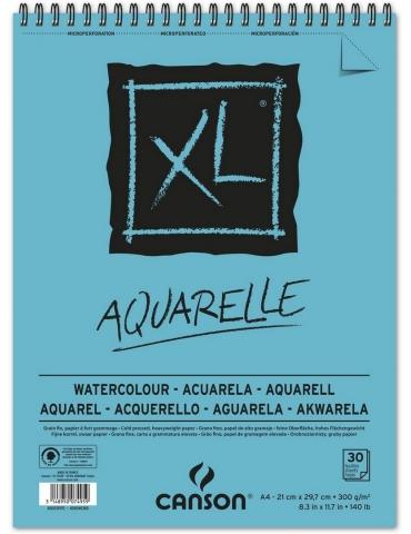 Blocco Acquerello Canson XL Aquarelle A4