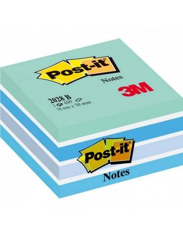 Blocco Adesivo Post-It 3M Colore Blu 76x76