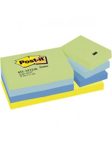 Blocco Adesivo Post-it 3M Colore Giallo 76x127