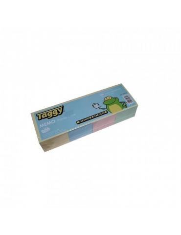 Blocco Adesivo Taggy 50x50 Colore Pastello