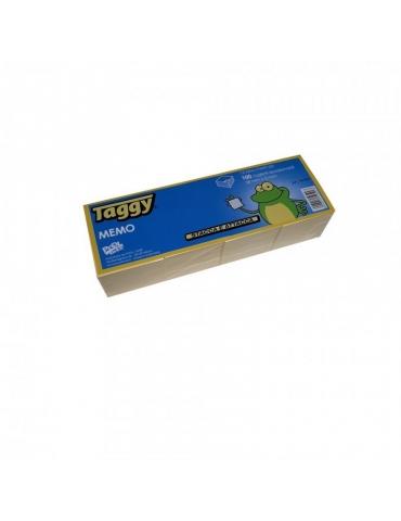 Blocco Adesivo Taggy 38x51 Colore Giallo