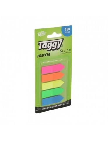 Segnapagina Taggy Pool Over Freccia 12x45 mm 5 Colori