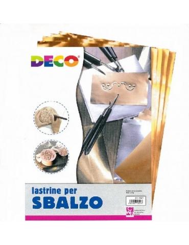 Lastrine Rame per Sbalzo Deco 20x30 Confezione 12 pz