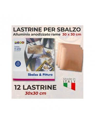 Lastrine Rame per Sbalzo Deco 30x30 Confezione 12 pz