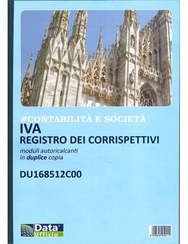Registro Dei Corrispettivi 12 Mesi (Duplice Copia)