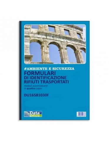 Formulari Di Identificazione Rifiuti Trasportati (Quattro Copie)