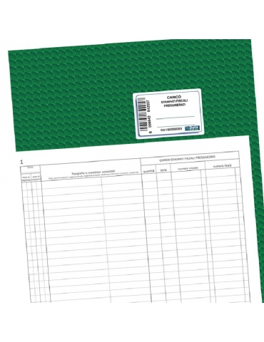 Registro Di Carico Per Stampati Fiscali Prenumerati