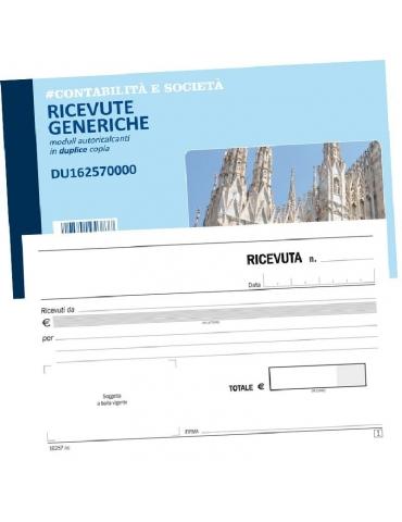 Ricevute Generiche (Duplice Copia)