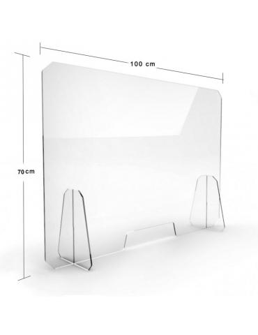 Pannello di Protezione in Plexiglass 70X100 cm