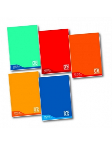 Quaderno per Disgrafia One Color Rigatura C 4°-5° Elementare/Medie/Superiori