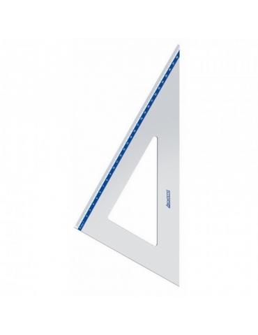 Squadra Architetto in Alluminio 45° 32 cm