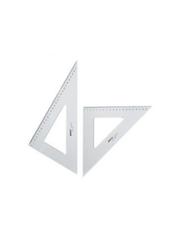 Coppia Squadre Architetto 45/60° 35 cm