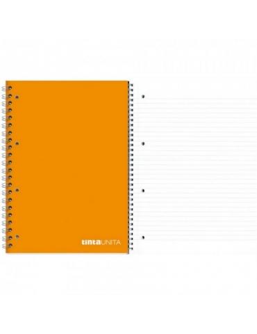 Quaderno Spiralato Tinta Unita con Fori Righe 1R A4