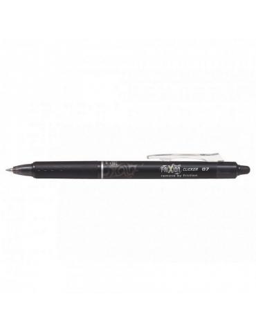 Penna Sfera Pilot Frixion Clicker 0.7 Nera