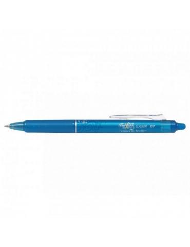 Penna Sfera Pilot Frixion Clicker 0.7 Azzurra