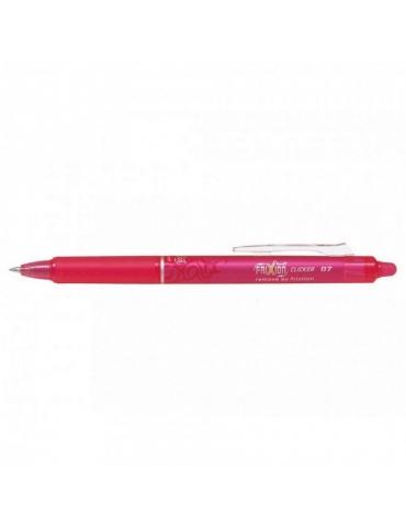 Penna Sfera Pilot Frixion Clicker 0.7 Rosa