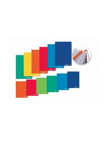 Quaderno Cartonato Tinta Unita Quadretti Q A4 120 Fogli