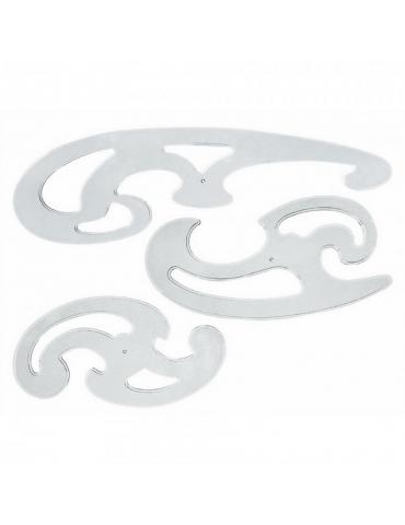 Curvilinee Architetto Set 3 pezzi