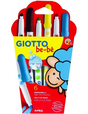 Super Pennarelli Giotto Bebè Confezione 6 pezzi