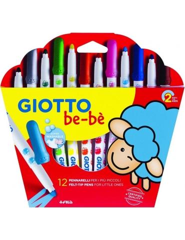 Super Pennarelli Giotto Bebè Confezione 12 pezzi