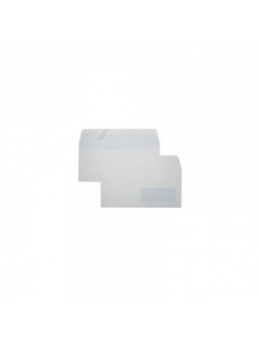 Busta Edera 11x23 con Strip Adesivo C/Fin Conf. 500 Pezzi