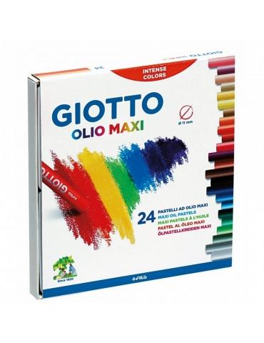 Pastelli a Olio Maxi Giotto FILA Confezione 24 Colori