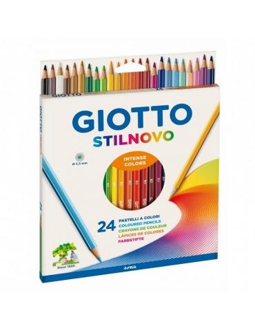 Matite Colorate Giotto FILA Stilnovo 24 Colori
