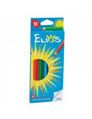 Matite Colorate Elios FILA Confezione 12 Colori