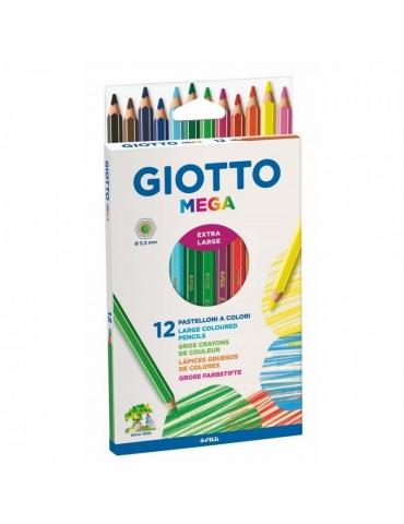 Matite Colorate Giotto FILA Mega Confezione 12 Colori