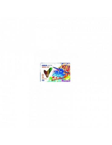 Matite Colorate Tinta Unita Mina 4.0 Confezione 36 Colori