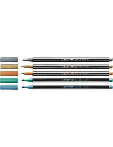 Pennarello Stabilo Pen 68 Metallic