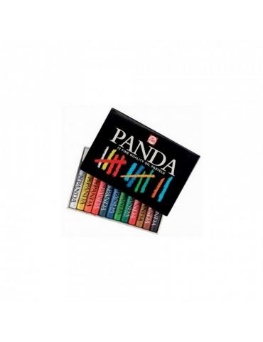Pastelli a Olio Panda Talens Confezione 12 Colori