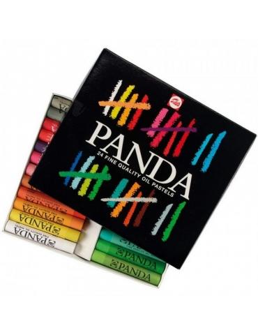 Pastelli a Olio Panda Talens Confezione 24 Colori