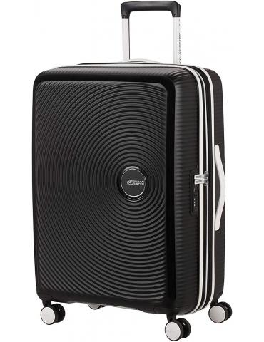 Trolley Cabina American Tourister Soundbox 55/20 Black & White