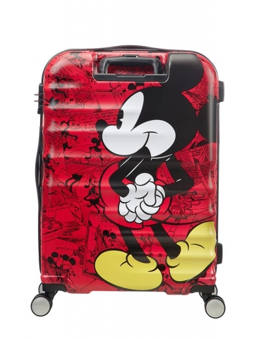 Trolley Cabina American Tourister Disney Legends 55/20 Mickey Comics Red