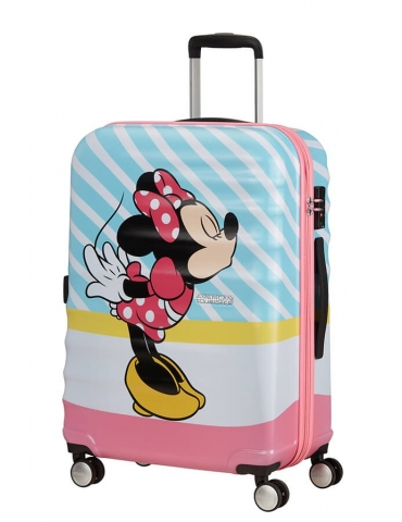Trolley Cabina American Tourister Disney Legends 55/20 Minnie Pink Kiss