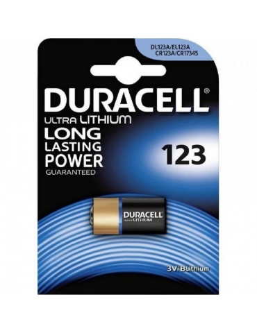 Pila Duracell DL123 3V Litio