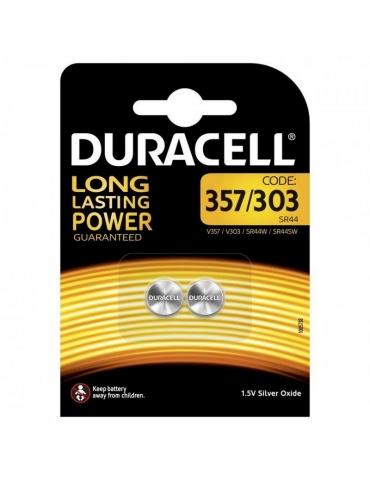 Pila Duracell D357-303 1.5 V Confezione 2 Pezzi