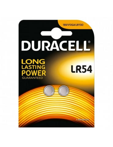 Pila Duracell DLR54 1.5 V Confezione 2 Pezzi