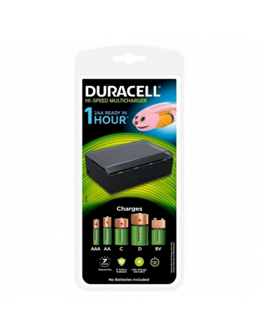 Cariabatterie Universale Duracell CEF22