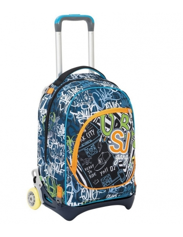 Zaino Trolley Seven Jack SJ Gang City Explorer