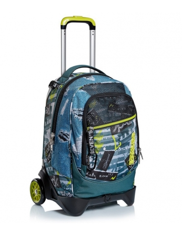 Zaino Trolley Seven Jack-2WD Urban Rock