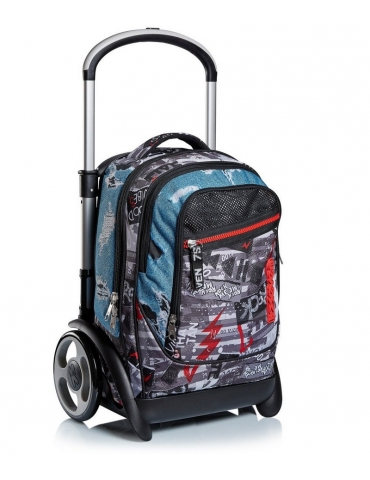 Zaino Trolley Seven Tyre Urban Rock