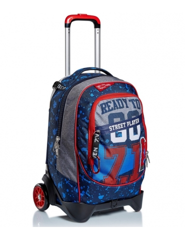 Zaino Trolley Seven Jack-2WD Street Player
